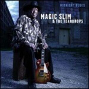 CD Midnight Blues Magic Slim , Teardrops