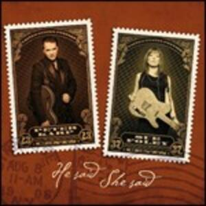 He Said She Said - CD Audio di Sue Foley,Peter Karp