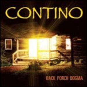 CD Back Porch Dogma di Contino