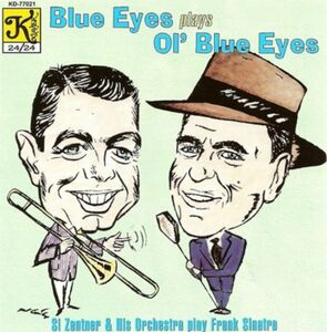 Foto Cover di Blue Eyes Plays Ol'blue E, CD di Si Zentner, prodotto da Klavier