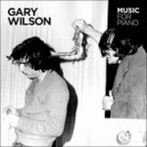 Music for Piano - Vinile LP di Gary Wilson