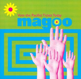 Foto Cover di Vote the Pacifist Ticket, CD di Magoo, prodotto da Mri