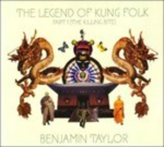 CD Legend of Kung Folk di Ben Taylor (Band)