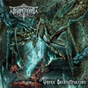 Foto Cover di Vorex Deconstruccion, CD di Thornafire, prodotto da Ibex Moon