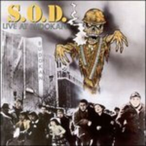CD Live at Budokan SOD , Stormtroopers of Death