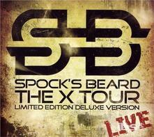 X Tour-Live - CD Audio di Spock's Beard