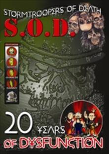 S.O.D. 20 Years Of Dysfunction - DVD