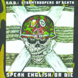 CD Speak English or Die di SOD