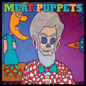 Foto Cover di Rat Farm, CD di Meat Puppets, prodotto da Megaforce