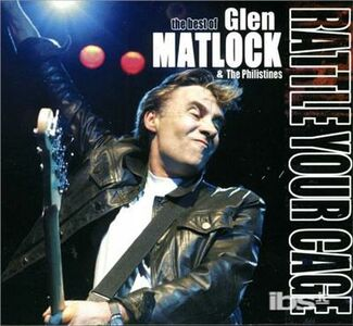 CD Rattle Your Cage di Glen Matlock
