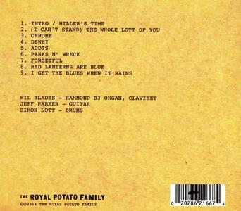 Field Notes - CD Audio di Wil Blades - 2