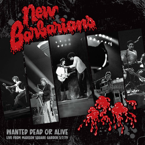 Vinile Wanted Dead or Alive New Barbarians