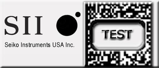 Seiko SLP-STAMP2 Bianco Etichetta per stampante autoadesiva