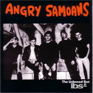 CD Unboxed Set di Angry Samoans