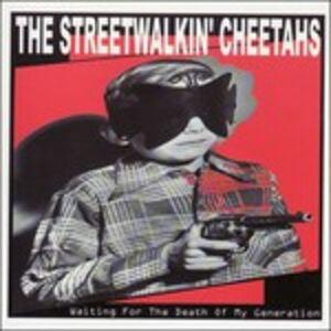 Foto Cover di Waitng for the Death of M, CD di Streetwalkin' Cheetahs, prodotto da Triple X