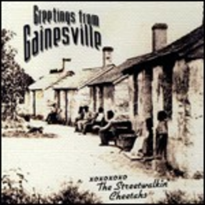 CD Greetings from Gainsville di Streetwalkin' Cheetahs