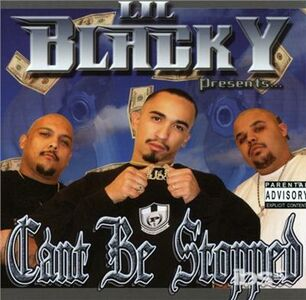 CD Can'T Be Stopped di Lil Blacky