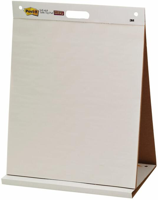 3M Post-it. Blocco Da Parete 20 Fogli In Carta Riciclata Con Adesivo Rimovibile Super Sticky - 2