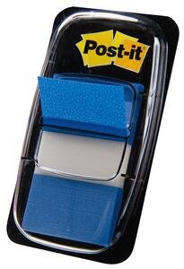 3M Post-it Index. 50 Bandierine Segnapagina Colore Blu (25,4x43,2 Mm)