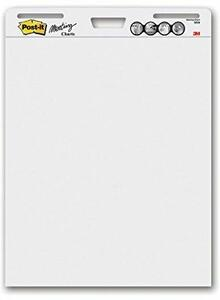 Cartoleria 3M Post-it. Blocco Da Parete 30 Fogli Con Adesivo Rimovibile Super Sticky 63.5x77.5cm Post-it