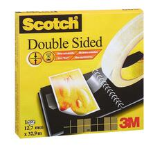 3M Post-it. Nastro Biadesivo Scotch Permanente Senza Liner 12mmx33m