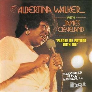 CD Please Be Patient di Albertina Walker