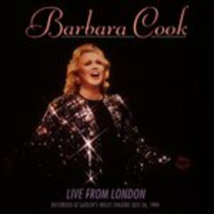 CD Live from London '94 di Barbara Cook