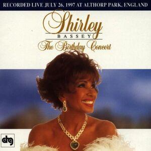CD Birthday Concert di Shirley Bassey
