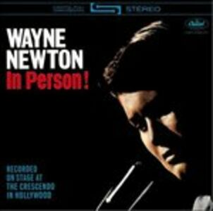 CD In Person! di Wayne Newton
