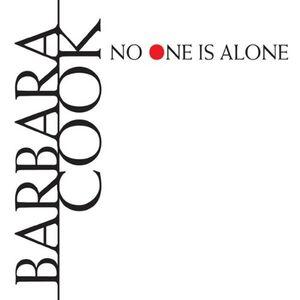 Foto Cover di No One Is Alone, CD di Barbara Cook, prodotto da Drg