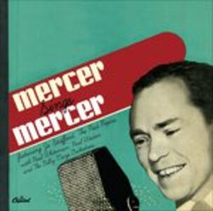 CD Sings Johnny Mercer di Johnny Mercer