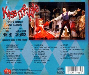 Kiss Me Kate (Colonna Sonora) - CD Audio - 2