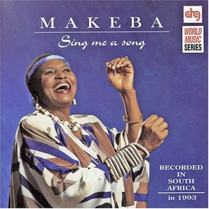 CD Sing Me a Song di Miriam Makeba