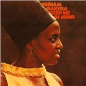 CD Keep Me in Mind di Miriam Makeba