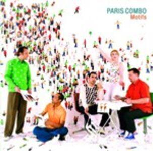 Foto Cover di Motifs, CD di Paris Combo, prodotto da Drg