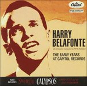 Foto Cover di Capitol Years, CD di Harry Belafonte, prodotto da Drg