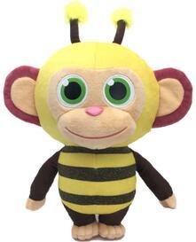 Wonderpark. Bee Peluche 36 Cm Con Profumo Di Zucchero Filato