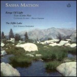 CD Range of Light - the Fifth Lake di Sasha Matson