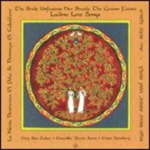 Foto Cover di Ladino Love Songs, CD di Etty Ben-Zaken, prodotto da New Albion
