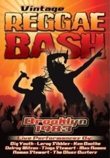 Vintage Reggae Bash. Brooklyn 1983 - DVD