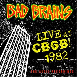 CD Live CBGB 1982 di Bad Brains