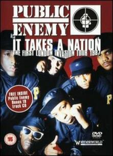 Public Enemy. It Takes A Nation: The First London Invasion Tour 1987 - DVD