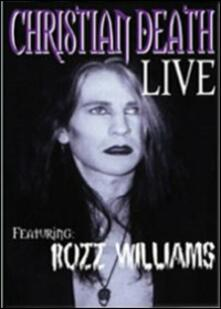 Christian Death. Live - DVD