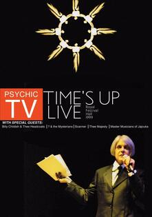 Psychic Tv. Time's Up Live - DVD