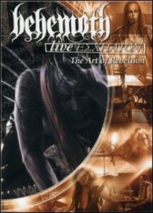 Behemoth. Live Eschaton. Art Of Rebellion - DVD