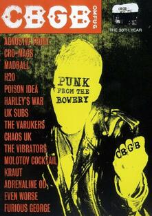 CBGB's. Punk From The Bowery (DVD) - DVD