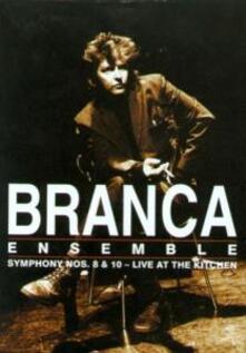 Glenn Branca. Symphony Nos. 8 & 10: Live At The Kitchen (DVD) - DVD di Glenn Branca