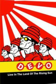 Devo. Live In The Land Of Therising Sun. Japan - DVD