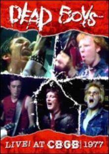 Dead Boys. Live at CBGB 1977 - DVD