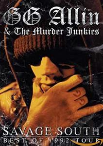Film G.G. Allin. Savage South: Best Of 1992 Tour